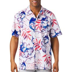 Columbia Mens PFG Trollers Sails & Palms Shirt