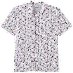 Columbia Mens Trollers Best Marlin Print Shirt