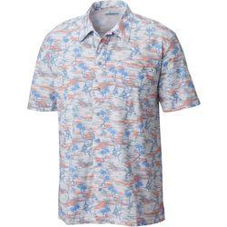 Columbia Mens Trollers Best Marlin Scribble Shirt
