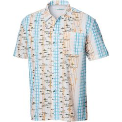 Columbia Mens PFG Trollers Best Riptide Vertical Fish Shirt