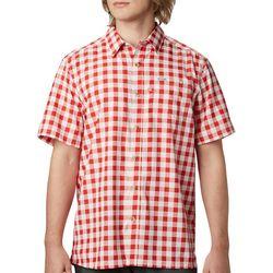 Columbia Mens PFG Super Slack Tide Plaid Shirt