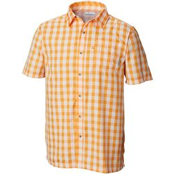 Columbia Mens PFG Super Slack Tide Plaid Shirt