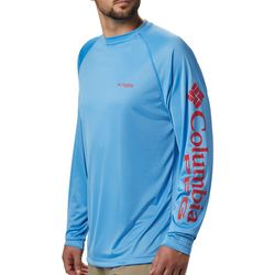 Columbia Mens PFG Terminal Tackle Raglan Long Sleeve T-Shirt