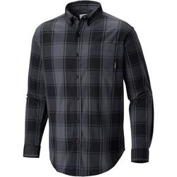 Columbia Mens Rapid Rivers II Large Plaid Print Shirt