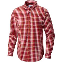 Columbia Mens Rapid Rivers II Plaid Long Sleeve Shirt