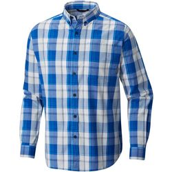 Columbia Mens Out and Back II Plaid Shirt