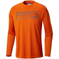 Columbia Mens Terminal Tackle PFG Hooks Long Sleeve Shirt