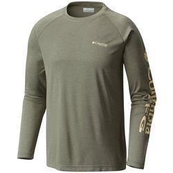 Columbia Mens PFG Terminal Tackle Logo Long Sleeve T-Shirt