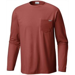 Columbia Mens Slack Tide Pocket Long Sleeve T-Shirt