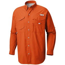 Columbia Mens PFG Bonehead Long Sleeve Shirt