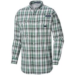 Columbia Mens PFG Super Bonehead Classic Plaid Shirt