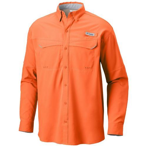 64dd1a44a48 Columbia Mens PFG Low Drag Offshore Long Sleeve Shirt | Bealls Florida