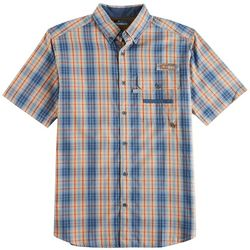 Columbia Mens Super Sharptail Tartan Plaid Shirt