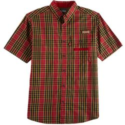 Columbia Mens Super Sharptail Tartan Short Sleeve Shirt