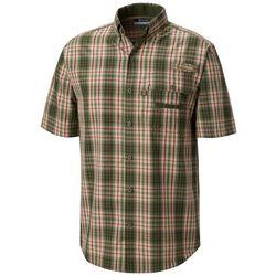 Columbia Mens Super Sharptail Tartan Plaid Button Down Shirt