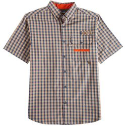 Columbia Mens Super Sharptail Plaid Print Shirt