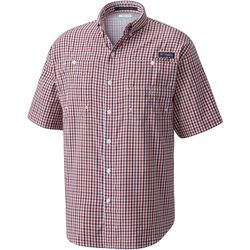 Columbia Mens PFG Super Tamiami Plaid Shirt