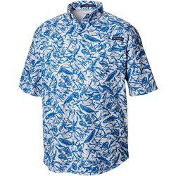 Columbia Mens PFG Super Tamiami Tarpon Print Shirt