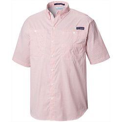 Columbia Mens PFG Super Tamiami Plaid Button Down Shirt