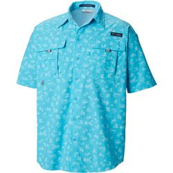 Columbia Mens PFG Super Bahama Mermaids N Marlins Shirt