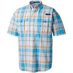 Columbia Mens PFG Super Bahama Plaid Shirt