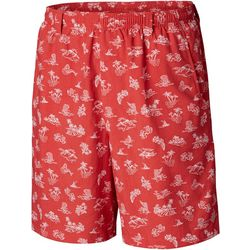 Columbia Mens Super Backcast Tropical Print Swim Shorts