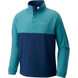Columbia Mens Sunshell Colorblock Pullover Jacket