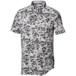 Columbia Mens Rapid Rivers Beach Convo Button Down Shirt