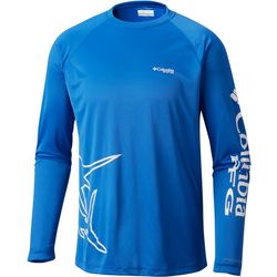 Columbia Mens Terminal Tackle PFG Fish Series Raglan T-Shirt