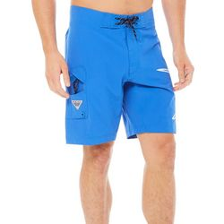 Columbia Mens PFG Fish Series Marlin Boardshorts
