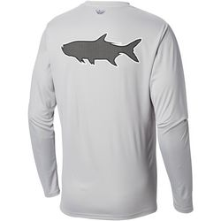 Columbia Mens Tall Fish Series Terminal Tackle Tarpon Shirt