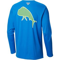 Columbia Mens Tall Fish Series Terminal Tackle Dorado Shirt