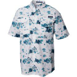 Columbia Mens Tall Super Bonehead Reeds N Tarpon Shirt