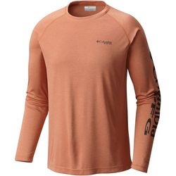 Columbia Mens Terminal Tackle Heathered Raglan T-Shirt