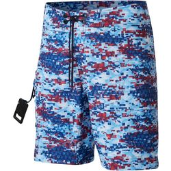 Columbia Mens PFG Offshore II Digital Camo Boardshorts