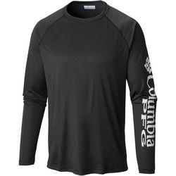 Columbia Mens Big Terminal Tackle Logo Raglan Sleeve T-Shirt