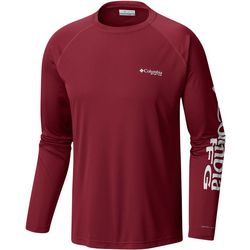 Columbia Mens Big Terminal Tackle Raglan Crew T-Shirt
