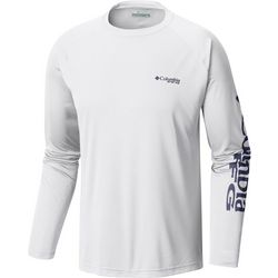 Columbia Mens Tall Terminal Tackle Raglan Crew T-Shirt