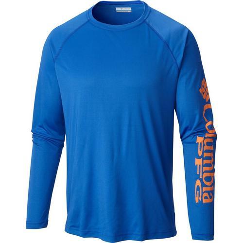 6e3d68e3b8ed Columbia Mens Terminal Tackle Long Sleeve T-Shirt