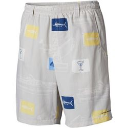 Columbia Mens Super Backcast Boat Flag Print Swim Shorts