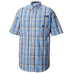 Columbia Mens Super Bonehead Plaid Shirt
