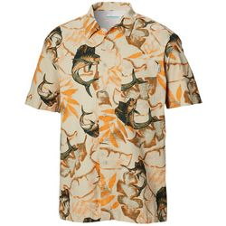 Columbia Mens PFG Trollers Best Marlin Short Sleeve Shirt