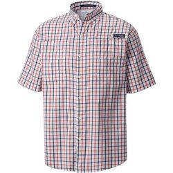 Columbia Mens PFG Tamiami II Plaid Shirt