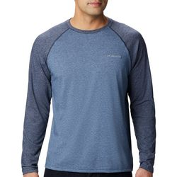 Columbia Mens Thistletown Park Raglan Long Sleeve Shirt