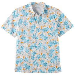 Columbia Mens PFG Trollers Best Riptide Palms Fish Shirt