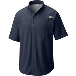 Columbia Mens Tall PFG Tamiami Short Sleeve Shirt