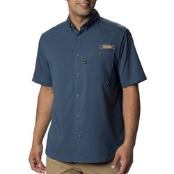 Columbia Mens PFG Bucktail Short Sleeve Shirt