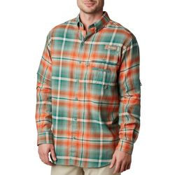 Columbia Mens PFG Sharptail Flannel Long Sleeve Shirt