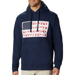 Columbia Mens PHG Game Flag Seasonal Hoodie