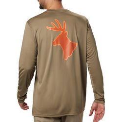 Columbia Mens PHG Terminal Shot Deer Long Sleeve T-Shirt